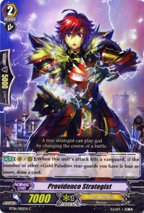 Cardfight Vanguard ENGLISH Breaker of Limits Single Card Common BT06-082EN Providence Strategist
