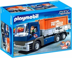 Playmobil City Action Set #5255 Cargo Truck & Container