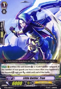 Cardfight Vanguard ENGLISH Breaker of Limits Single Card Common BT06-085EN Little Battler, Tron
