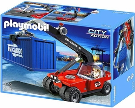 Playmobil City Action Set #5256 Cargo Transporter & Container