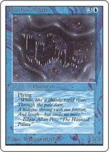 Magic the Gathering Unlimited Edition Single Card Uncommon Phantom Monster