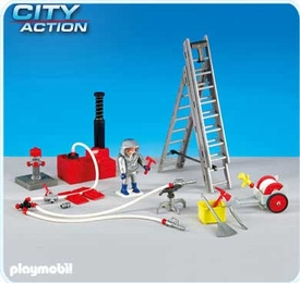 Playmobil City Action Set #6288 Fire Fighter with Equipment