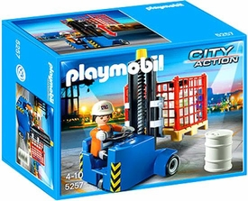 Playmobil City Action Set #5257 Forklift