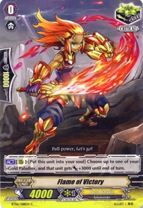Cardfight Vanguard ENGLISH Breaker of Limits Single Card Common BT06-088EN Flame of Victory