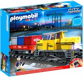 Playmobil City Action Set #5258 RC Freight Train
