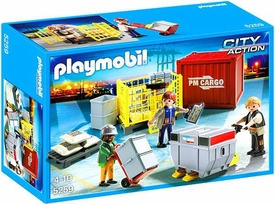 Playmobil City Action Set #5259 Cargo Loading Team