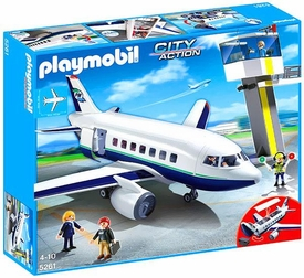 Playmobil City Action Set #5261 Cargo & Passenger Aircraft