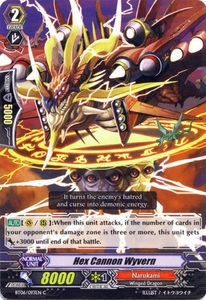 Cardfight Vanguard ENGLISH Breaker of Limits Single Card Common BT06-093EN Hex Cannon Wyvern