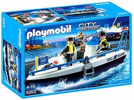 Playmobil City Action Set #5263 Patrol Boat
