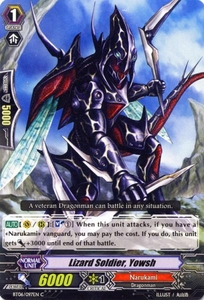 Cardfight Vanguard ENGLISH Breaker of Limits Single Card Common BT06-097EN Lizard Soldier, Yowsh