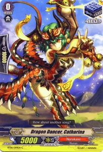 Cardfight Vanguard ENGLISH Breaker of Limits Single Card Common BT06-099EN Dragon Dancer, Catharina