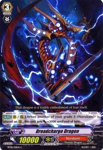 Cardfight Vanguard ENGLISH Breaker of Limits Single Card Common BT06-101EN Dreadcharge Dragon