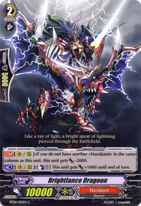 Cardfight Vanguard ENGLISH Breaker of Limits Single Card Common BT06-102EN Brightlance Dragon
