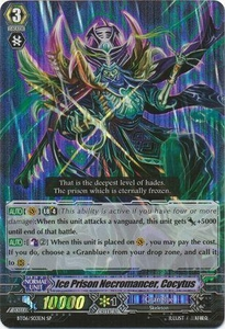 Cardfight Vanguard ENGLISH Breaker of Limits Single Card SP BT06-S03EN Ice Prison Necromancer, Cocytus