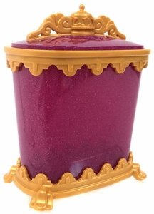 Playmobil LOOSE Accessory Gold & Magenta Wardrobe