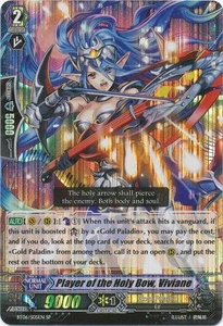 Cardfight Vanguard ENGLISH Breaker of Limits Single Card SP BT06-S05EN Player of the Holy Bow, Viviane