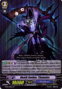 Cardfight Vanguard ENGLISH Breaker of Limits Single Card SP BT06-S10EN Death Seeker, Thanatos