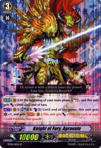 Cardfight Vanguard ENGLISH Breaker of Limits Single Card SP BT06-S11EN Knight of Fury, Agravain