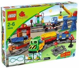 LEGO DUPLO Lego Ville Set #5609 Deluxe Train Set