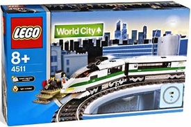 LEGO City Set #4511 High Speed Train