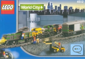 LEGO City Set #4512 Cargo Train