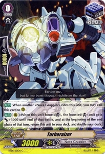 Cardfight Vanguard ENGLISH Breaker of Limits Single Card Common BT06-110EN Turboraizer
