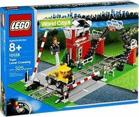 LEGO City Set #10128 Train Level Crossing