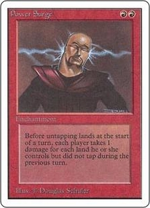 Magic the Gathering Unlimited Edition Single Card Rare Power Surge