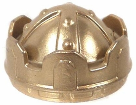 Playmobil LOOSE Headgear Gold Crown [Studded Bands Crossing]