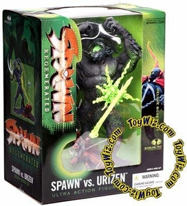 McFarlane Toys Spawn Series 28 Regenerated Deluxe Action Figure Boxed Set Spawn vs. Urizen
