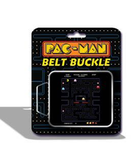 Pac-Man Belt Buckle