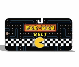 Pac-Man Checkered Web Belt