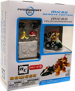 Mario Kart Wii Micro R/C Remote Control Bowser