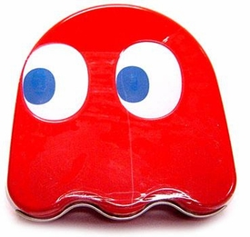 Pac-Man Candy Tin Blinky Ghost Sours [Red]