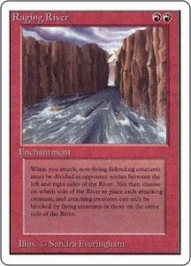 Magic the Gathering Unlimited Edition Single Card Rare Raging River