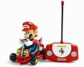 Super Mario Brothers Mario Kart Remote Control Mario Damaged Package, Mint Contents!