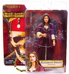 NECA Pirates of the Caribbean Curse of the Black Pearl Series 3 Action Figure Elizabeth Swann