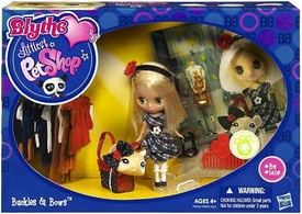 Littlest Pet Shop Blythe's Sitters Set Buckles & Bows [Includes Mouse] BLOWOUT SALE!