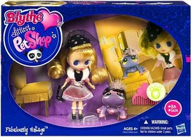 Littlest Pet Shop Blythe's Sitters Set Fabulously Vintage [Includes Spider]