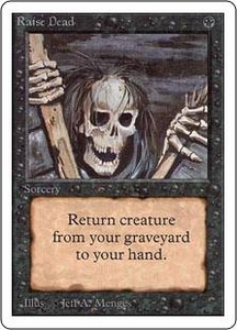 Magic the Gathering Unlimited Edition Single Card Common Raise Dead