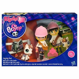 Littlest Pet Shop Blythe's Sitters Set Playfully Plaid [Includes Horse]