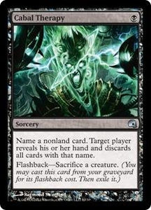 Magic the Gathering Premium Deck Series: Graveborn Single Card Black Uncommon #12 Cabal Therapy