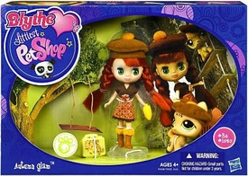 Littlest Pet Shop Blythe's Sitters Set Autumn Glam [Includes Deer]