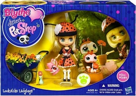 Littlest Pet Shop Blythe's Sitters Set Look-Alike Ladybugs [Includes Ladybug]