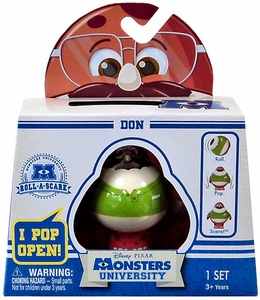 Disney / Pixar Monsters University Roll-a-Scare Figure Don