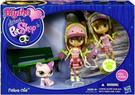 Littlest Pet Shop Blythe's Sitters Set Fashion Cats [Includes Cat]