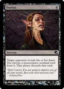 Magic the Gathering Premium Deck Series: Graveborn Single Card Black Common #13 Duress