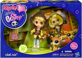Littlest Pet Shop Blythe's Sitters Set Cutest Cubs [Includes Bear]