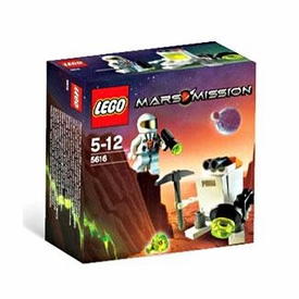 LEGO Mars Mission Exclusive Set #5616 Mini Robot