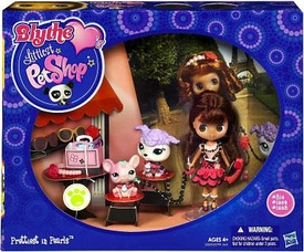 Littlest Pet Shop Blythe's Travel Doll Figure Prettiest in Pearls [Includes 2 Pets]